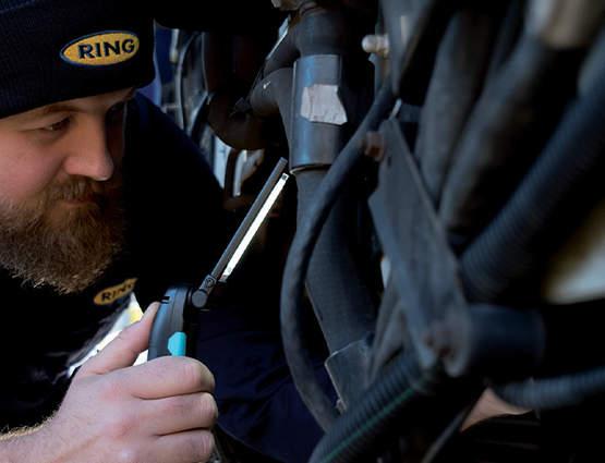 Lampe d'inspection éffilée MAGflex Pivot RING